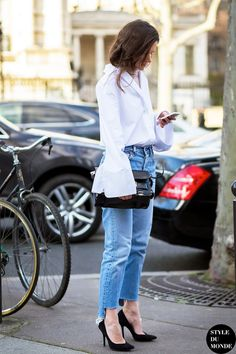 This Street Style Look Makes A Chic Case For Flare Sleeves