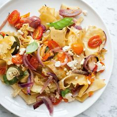 Dairy Roasted Veggie Pasta Recipe Perfect for Shavuot