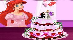 Em Princesa Ariel Bolo de Casamento, a Princesa Ariel vai se casar, ela é uma linda e doce princesa; além disso, nossa Princesa Ariel é uma garota muito estilosa que ama tudo sobre moda. Por isso, ela resolveu criar o seu próprio bolo de casamento, mas vai precisar de sua ajuda. Ajude nossa Princesa Ariel decorar o mais bonito e fashion bolo de casamento de todo o fundo do mar. Primeiro vá com ela fazer as compras e depois use toda sua criatividade para decorar o bolo de casamento.