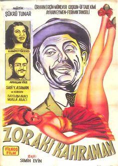 Türk Nostalji - Fotogaleri - Zoraki Kahraman (1952) filminin afişi