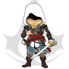 Assassin's Creed 4: Black Flag Edward Kenway Chibi
