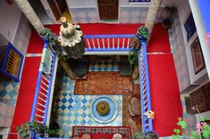 An old riad in Marrakech