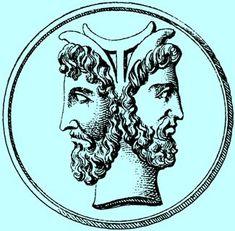 Janus ~ The Duel of Opposites ~ Gemini Gemini Rising, Alter, Archaeology, Memorial Day, Tatting, Fairy Tales, Symbols, Memories, Paganism