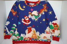 Ugly+Christmas+Sweater+Size+S+Vintage+by+AnnieBananniesShop