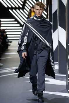 Y-3 | Fall 2014 Menswear Collection | Look 27