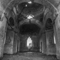 The ruined church. #photography #Romania #bw #monochrome #travel #tours #phototours