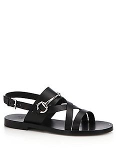 Gucci Juliette Strappy Flat Sandals