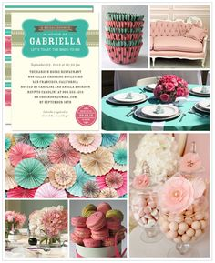 Bridal Shower Inspiration Board   Wedding Paper Divas Blog