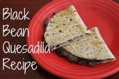 Black Bean Quesadilla Recipe