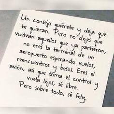 Ser feliz siempre...