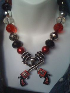 Texas Tech Red Raiders Necklace