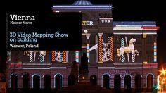 SIEDEMZERO™ 3D VideoMapping Vienna - Now or Never. Pałac Staszica on Vimeo