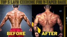 TOP 5 LATS EXERCISE FOR BACK (V-TAPER) – Fitnutritionist.com Chest Workouts, Gym Workouts, T Bar Row, Good Posture, Back Exercises, Bench Press, Muscle Groups, Fitness Nutrition, Barbell