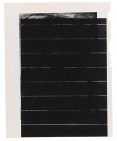 Wade Guyton B.1972 UNTITLED (TO GROTESKER. CA. 1948) signed on a label affixed to the backing board Epson DURABrite inkjet on book page 9 1/2 by 7 1/2 in. 24.1 by 19.1 cm. Executed in 2016.