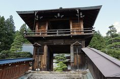 Shoroh-mon Gate, Unryu-ji Temple, Takayama