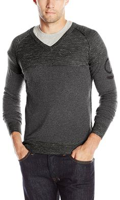 Diesel Men's K-Aerostat Sweater: Mix cotton wool stretch sweater Black Sweaters, Diesel, Fashion Brands, Gifts For Her, Topshop, Men Sweater, Pullover, Stylish, Cotton