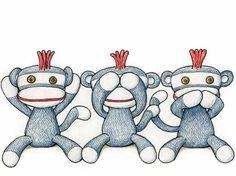 sockmonkey images | sock monkey illustration by Timothy Mietty