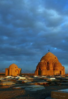 Mehrava domes by Elias Pirasteh, via Flickr