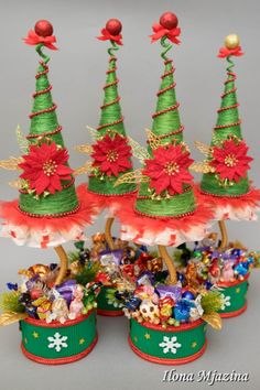 Gallery.ru / Фото #109 - Новый Год 2014 - ilona-mj Christmas To Do List, Christmas Love, Christmas Holidays, Candy Crafts, Christmas Projects, Holiday Crafts, Xmas Ornaments, Christmas Decorations, Christmas Sewing