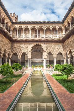Game of Thrones themed tour of Spain's Moorish architecture on offer Cool Places To Visit, Places To Travel, Alcazar Seville, Algarve, Spain Travel, Gaudi, Lonely Planet, Travel Inspiration, Game Of Thrones