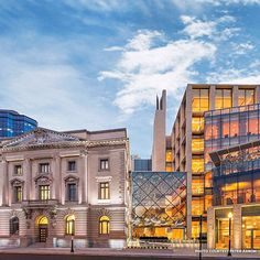 Here at the National Trust for Historic Preservation, we are celebrating National Library Week by highlighting some of our favorite libraries that have been adapted from historic buildings! First up is Slover Library in Norfolk, Virginia. Named after former Mayor Colonel Samuel Slover, this public library is a combination of modern architecture and the restored 115 year old Seaboard Building next door. Built in 1908, the Seaboard formerly served as Norfolk's city hall, an appellate courthouse, and an insurance business. In 2007, the historic building was bought by the city to be reused and incorporated into the new library. The Slover is certainly a great mix of historic and modern!  Do you know of any historic buildings that have been reused as libraries? Please share them with us during National Library Week 2015!