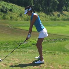Wear to Win slimming ruched polo & Smashing Golf skort available at Golf4Her.com