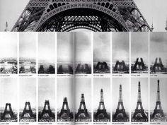 Enlace permanente de imagen incrustada Construcción de la Torre Eiffel