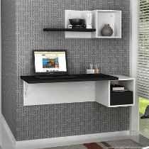 escritorio de pc con repisas flotantes - Buscar con Google