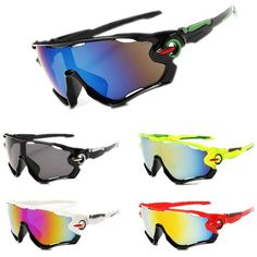 Outdoor UV400 Cycling Sunglasses Men Women's Sun Glasses Bicycle Glasses Mountain Bike Goggles Sports Eyewear