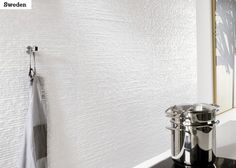 Hillityn hauska valkoinen seinälaatta on EV Sweden cm. Sweden, Walls, Flooring, Wood Flooring, Floor