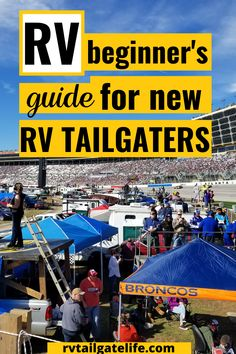 Are you interested in RV tailgating for football, baseball, or even NASCAR? Check out these tips for new RV tailgaters to make the best out of your first RV tailgate experience! Don't forget your game tickets! Bring your motorhome, travel trailer, schoolie, van conversion, and more to enjoy the best parking lot party ever! Rv Travel, Travel Info, Travel Tips, Stay Cool, Football, Baseball, Rv Life, Rv Living, Go Camping