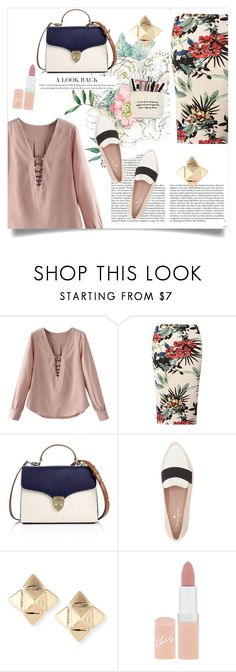 """""""Untitled #325"""" by lizsatt ❤ liked on Polyvore featuring Dorothy Perkins, Aspinal of London, Whiteley, Kate Spade, Valentino and Rimmel"""
