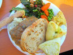 Seoul Vegan Potluck : Claire's Garlic Mashed Potatoes and Mushroom Gravy