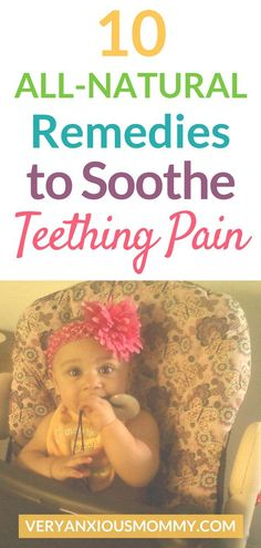 10 All-Natural Teething Remedies to Soothe Your Irritable Baby – Very Anxious Mommy Babies inquiring … Baby Teething Remedies, Natural Teething Remedies, Natural Remedies, Teething Symptoms, Holistic Remedies, Parenting Advice, Kids And Parenting, Essential Oils For Teething, All Family