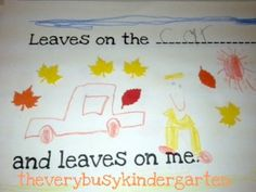 image from google               Right now the leaves look like this outside my classroom, so we are reading lots of books about leaves. ...