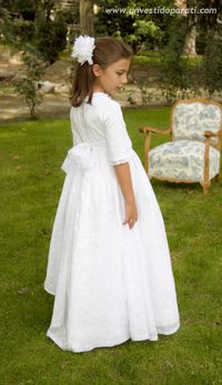 Un vestido para ti: Modelo Topos Maria Rose, Cute Dresses, Flower Girl Dresses, First Communion Dresses, Girl Outfits, Fashion Outfits, Heirloom Sewing, Kids Wear, Christening