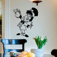 Alice In Wonderland Wall Decal Vinyl Sticker The by FabWallDecals