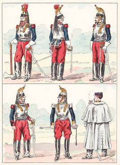 French; Cuirassiers, 1855