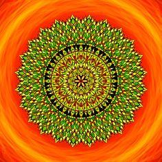 Mandala Správný čas je tady a teď Cas, Relax, Spirituality