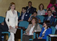 Queen Letizia attends the 2nd Congress of Rare Childhood Diseases 14.04.2015