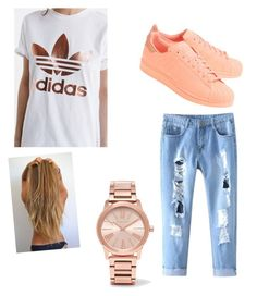 """Adidas "" by alyvinsik on Polyvore featuring adidas, adidas Originals and Michael Kors"