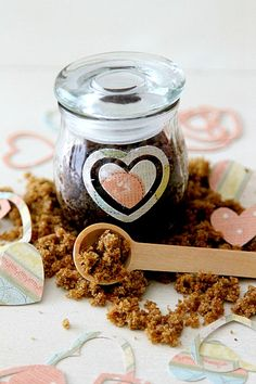 Sugar Scrub Lip Scrub for DIY at home projects, easy to follow craft for even a novice