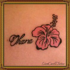Tattoo Flor Por LionCastleTattoo