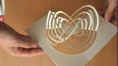 How To Make An Amazing Kirigami Pop Up Card Tutorial A new solitary determine regenerating Paper Pop, Diy Paper, Paper Crafts, Foam Crafts, Origami And Kirigami, Origami Paper, Pop Up Karten, Paper Engineering, Paper Folding
