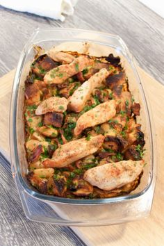 Cucinare con amore: Pečené kuře s nádivnou trochu jinak Green Beans, Food And Drink, Chicken, Vegetables, Cooking, Recipes, Diet, Kitchen