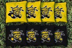 Cornhole All Weather Bag Set - Wichita State University WSU Shockers