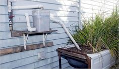 Water your garden with greywater: collect and reuse run-off water from your showers, sinks, and laundry