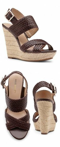 Woven Chocolate Wedges
