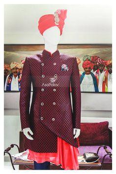 **S W A G** personified! #Grooms2018 #Grooms #Asopalav #Ahmedabad #Surat #GroomsToBe #DesignerCollection #Granduer #Royal #elegance #ElegantBridalWear #Indianweddings #Indianfashion #BigFatIndianWeddings #Bridalwear #BridalElegance #NewGenerationBrides #IndianEthnicWear #bridalboutique #bridalinspiration #NRIBrides