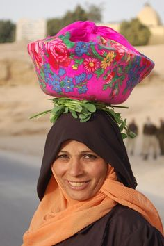 A smile from Egypt .